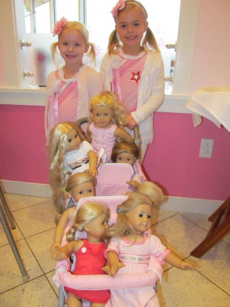 ... Photo Review of Bunny Brunch at American Girl Saint Louis, March 2013