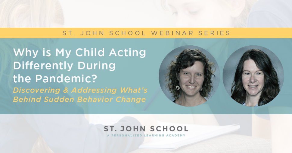 VIRTUAL EVENT: Webinar: Why Is My Child Acting Differently ...