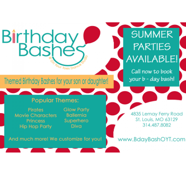 Places For Birthday Parties In And Around St Louis Kids